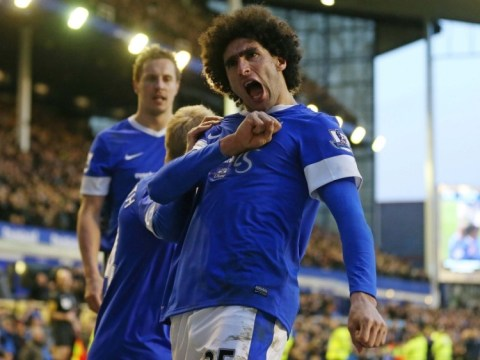 Marouane Fellaini in danger of missing Manchester United trip