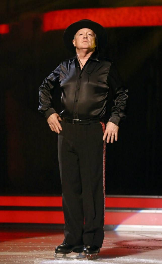 Keith Chegwin survives Dancing On Ice
