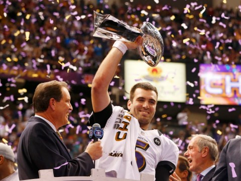 Ravens' gritty Super Bowl win was classic Baltimore, says MVP Joe Flacco