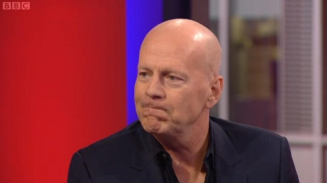 Bruce Willis awkward interview on the one show