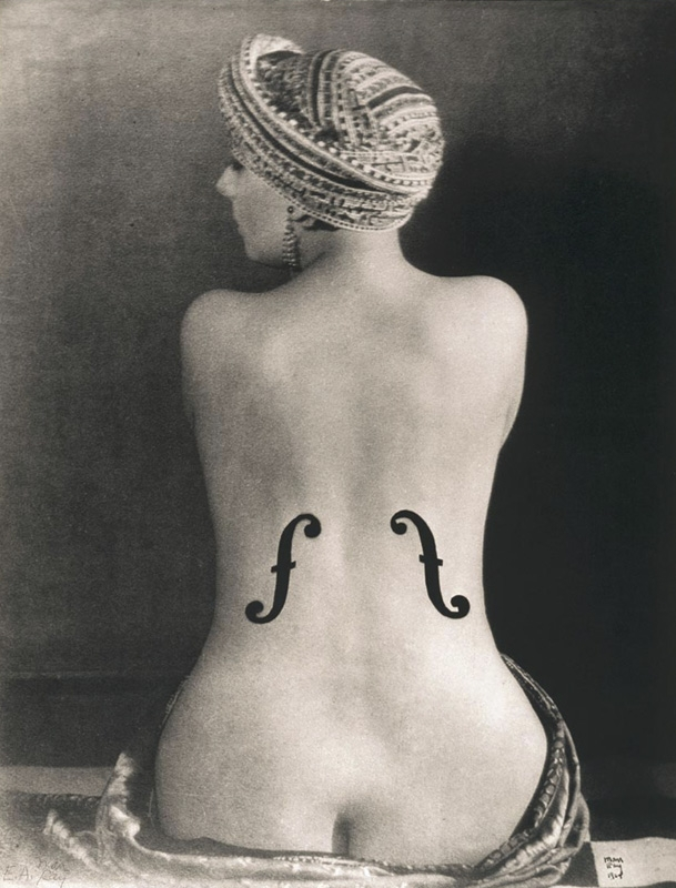 Le Violon d'Ingres is one of around 150 images on display (Picture: Man Ray Trust)