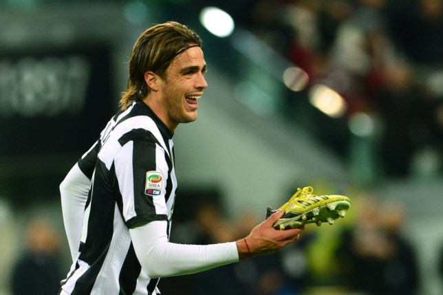 Juventus' forward Alessandro Matri