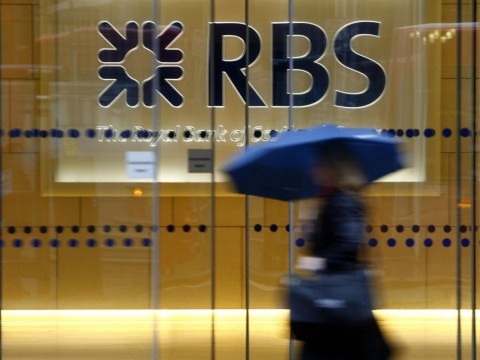 Scandal-hit RBS reports £5bn loss and fifth successive yearly drop