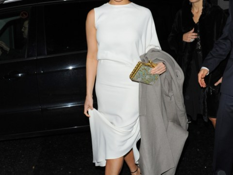 Gemma Arterton looks glum over 'marriage split' pain at Baftas bash