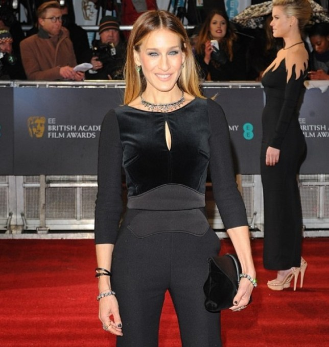 Sarah Jessica Parker arriving for the 2013 British Academy Film Awards at the Royal Opera House, Bow Street, London.