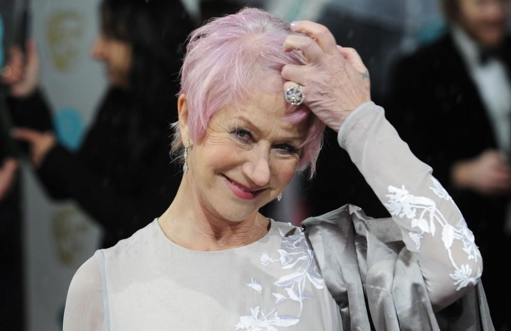 Helen Mirren warns: 'I'm dying my hair green next'
