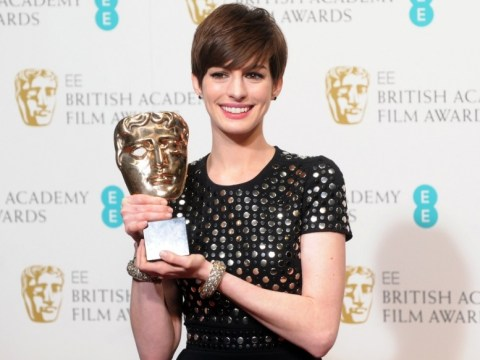 Anne Hathaway: I'm going to build a shed for my Bafta gong