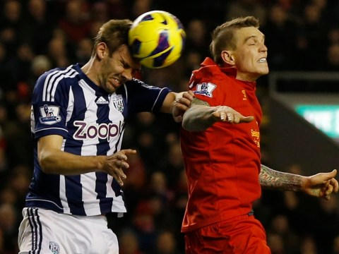 Liverpool's Daniel Agger admits personal performance 'not good enough' in West Brom defeat
