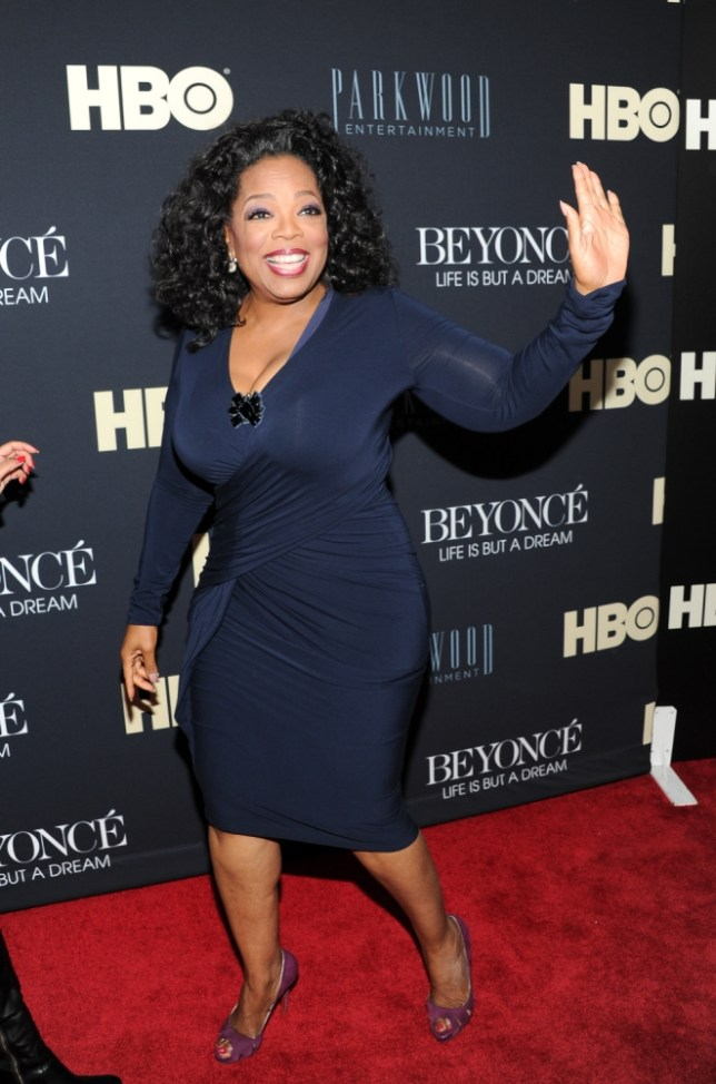 Girlfriend only: Oprah Winfrey has never married (Picture: Evan Agostini/Invision/AP)