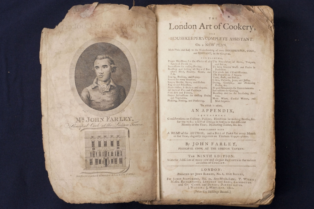 Recipes by the Heston Blumenthal of 1800s go on sale