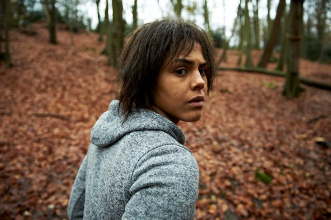 Lenora Crichlow in White Bear (Picture: Channel 4)