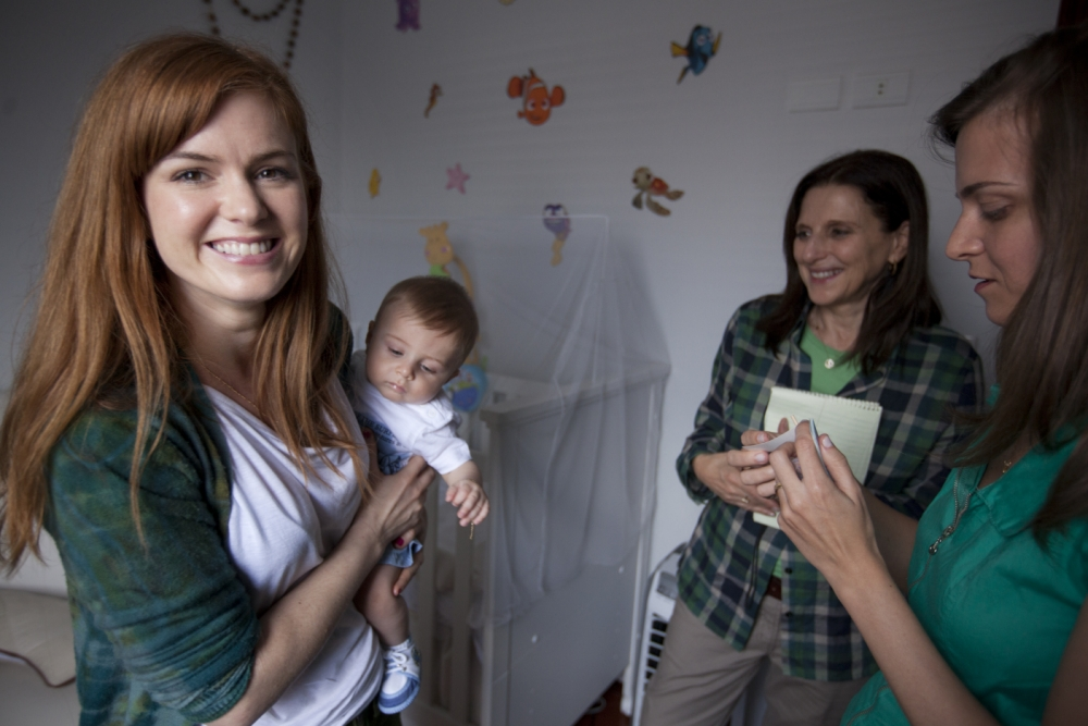 Isla Fisher: Why I'm promoting breastfeeding in the developing world