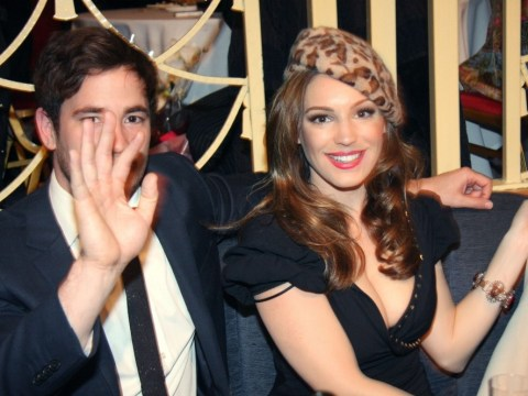 Kelly Brook and Danny Cipriani cosy up on romantic Valentine's Day date