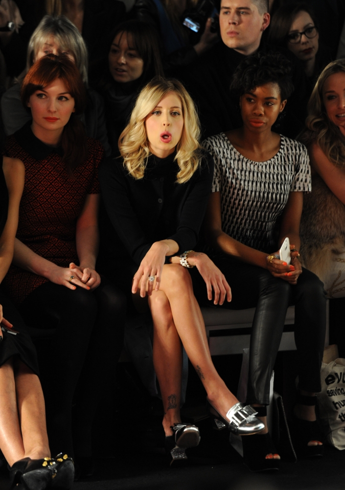 London Fashion Week: Celebrity spotting on the front row