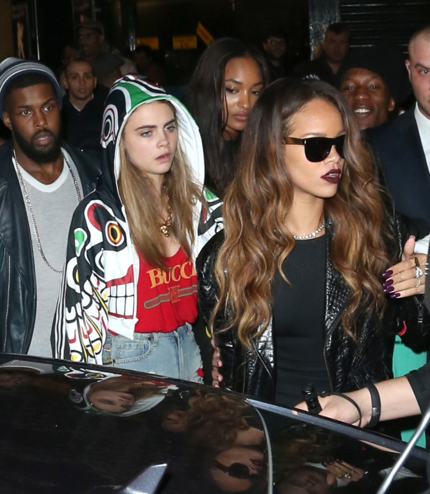 Rihanna left bloodied after 'bottle attack' at London Fashion Week party