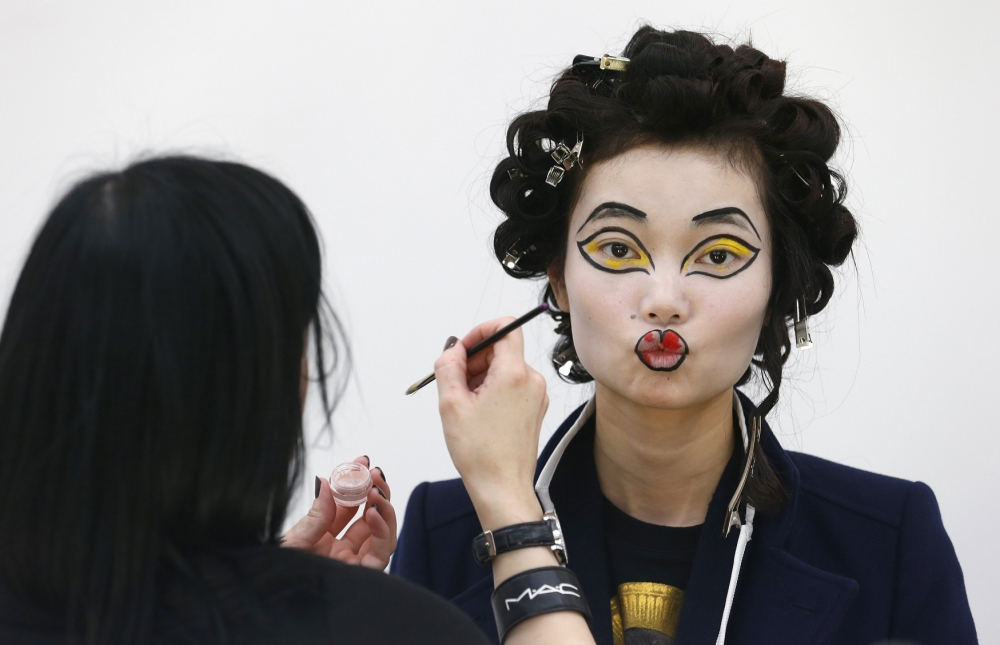 Vivienne Westwood's defiant London Fashion Week show was larger than life