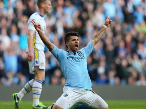 Sergio Aguero inspires Manchester City FA Cup win to ease Roberto Mancini's woes