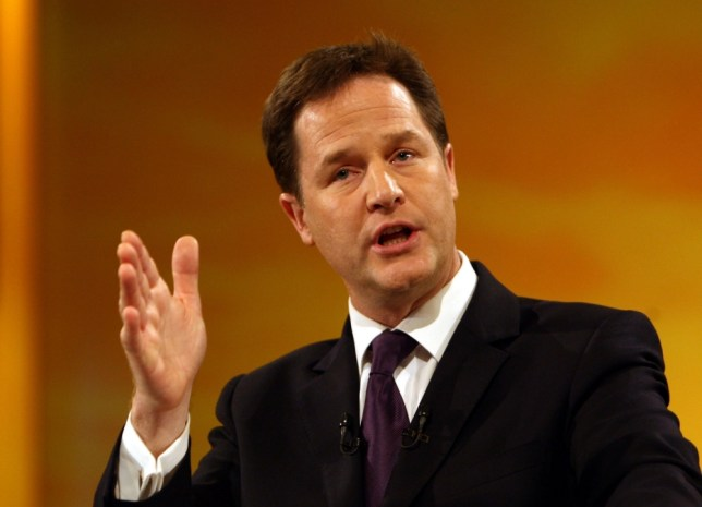 Nick Clegg has pledged to take action on lobbying. (Picture: David Jones/PA Wire)