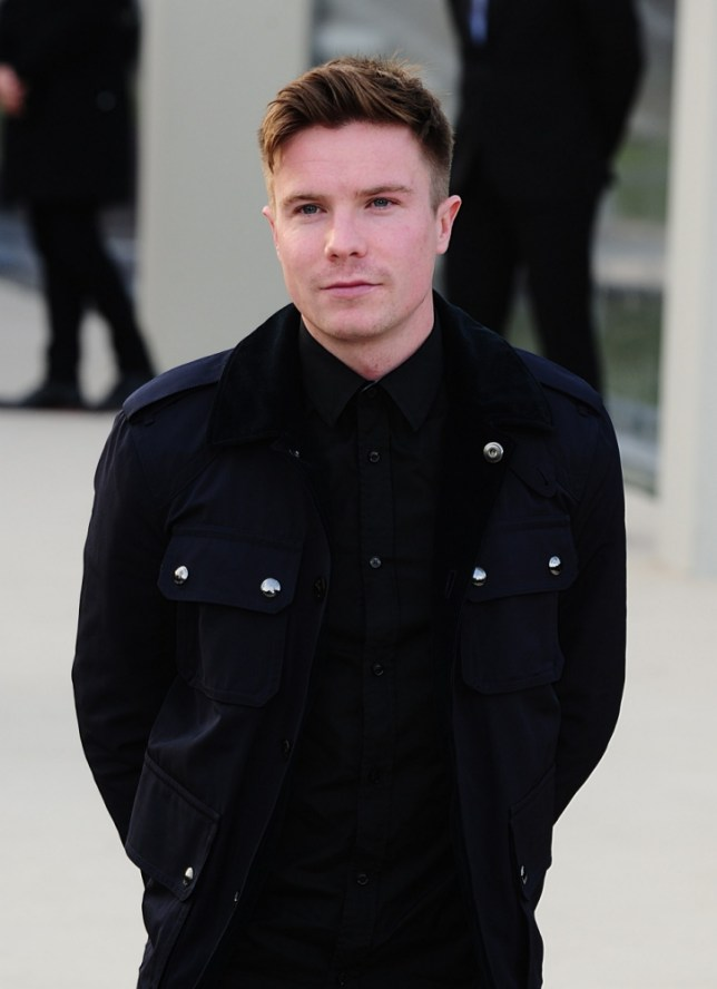 Actor Joe Dempsie