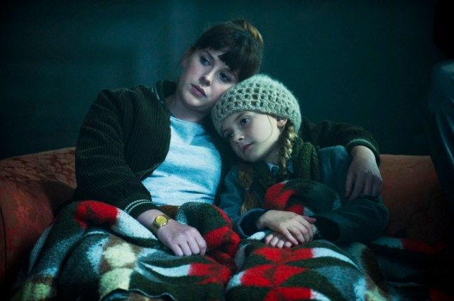 Hither and thither: Becky (Alexandra Roach) and Alice (Emilia Jones) in the bamboozlingly brilliant Utopia