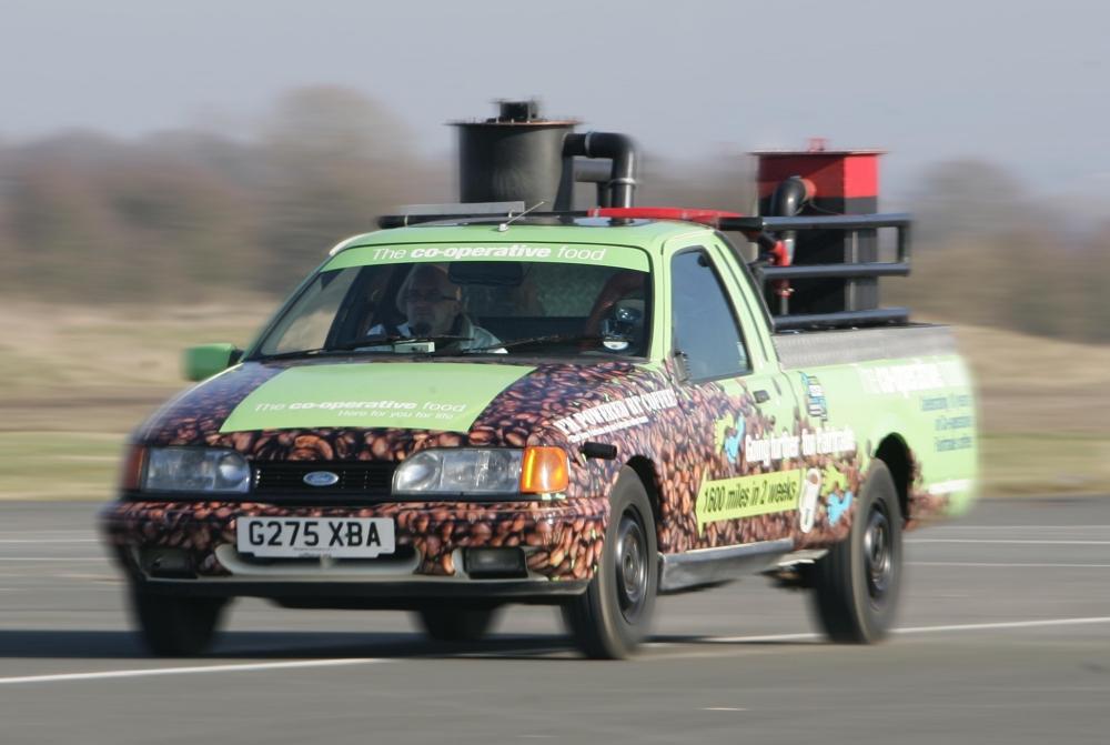Bean Machine coffee car