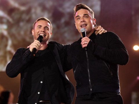 Robbie Williams and Gary Barlow are X Factor 'dream team'