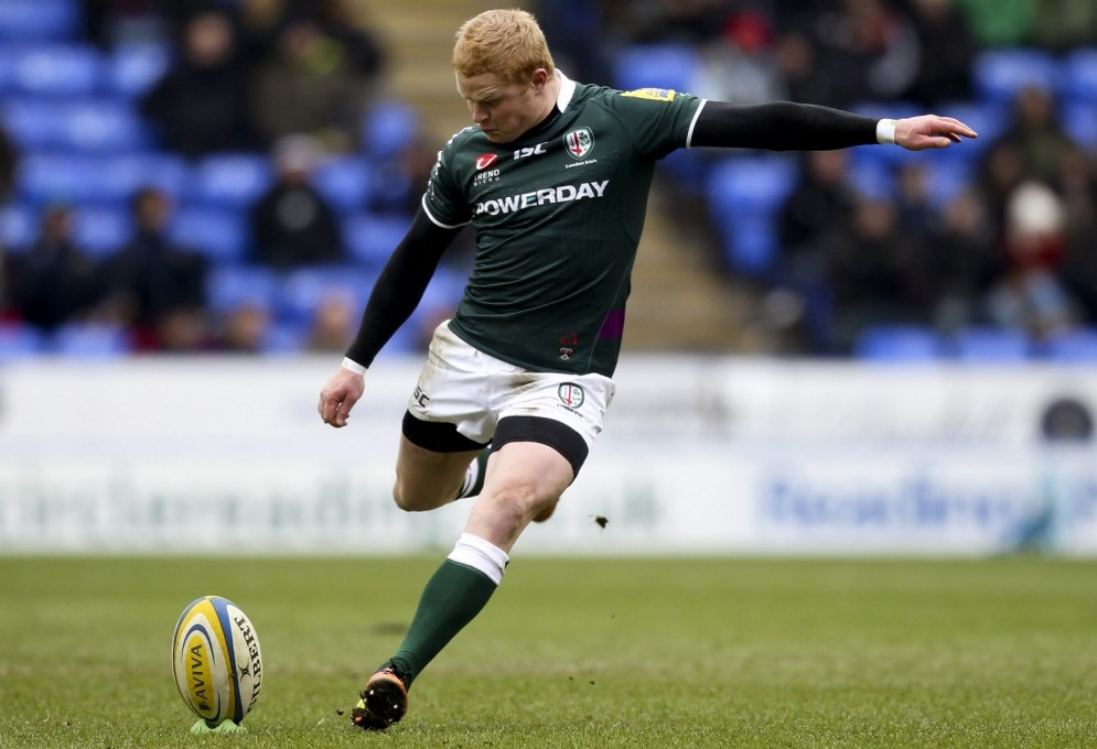 Tom Homer helped London Irish to victory, scoring 20 points off his boot (Picture: Getty)