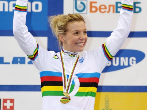 Praise heaped on World Championship hero Becky James but Victoria Pendleton comparisons 'too soon'