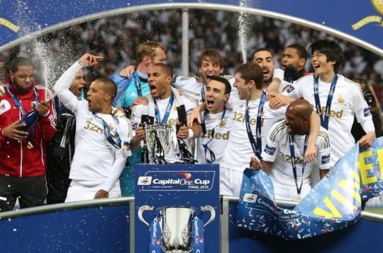 Swansea City Capital One Cup triumph