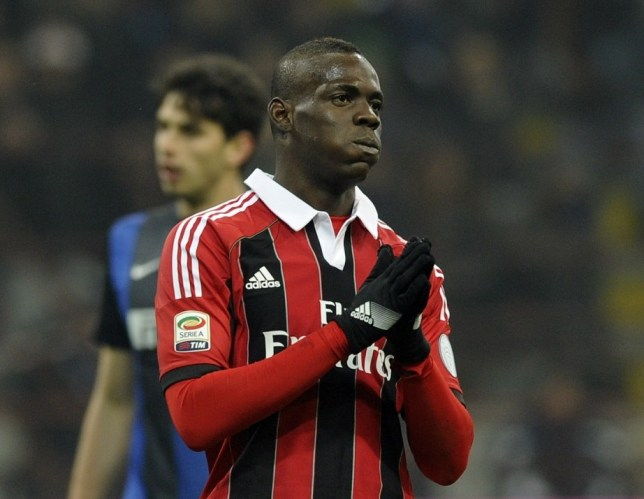 size 40 fb6eb e7b81 Mario Balotelli 'racist abuse' in Milan derby could land ...