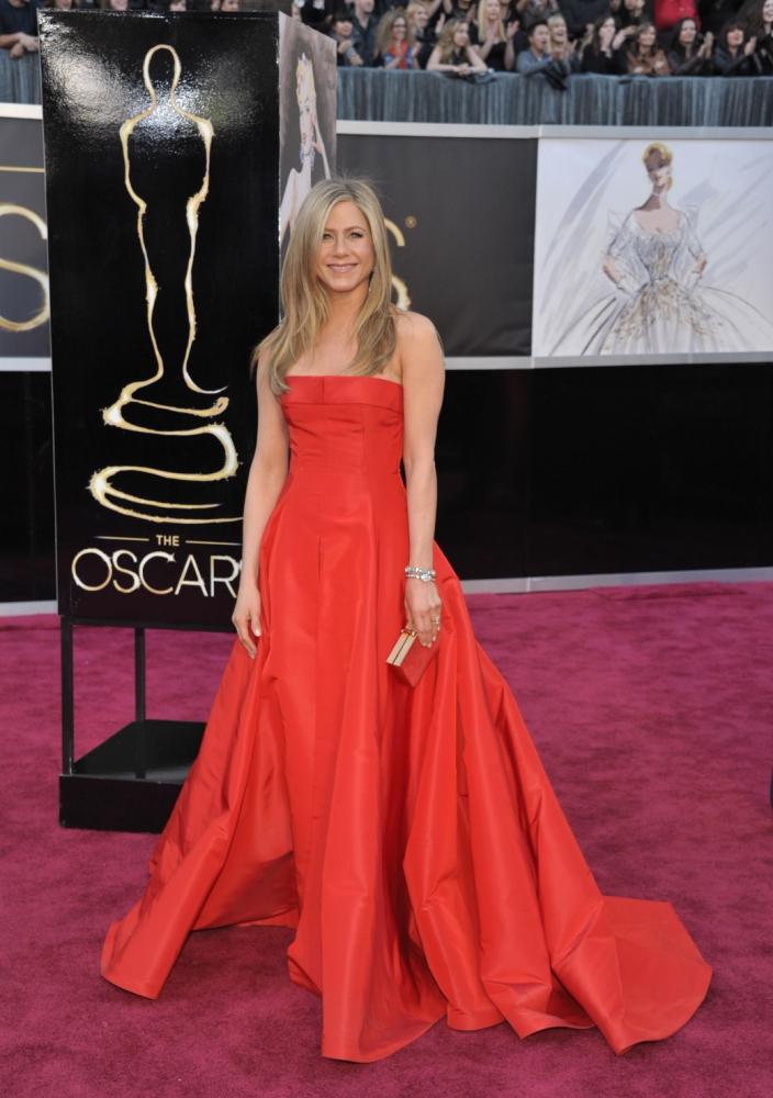 Top five red carpet trends at the Oscars 2013