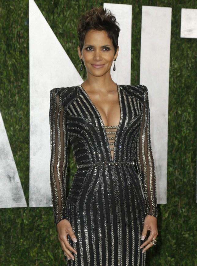 Halle Berry Oscars dress