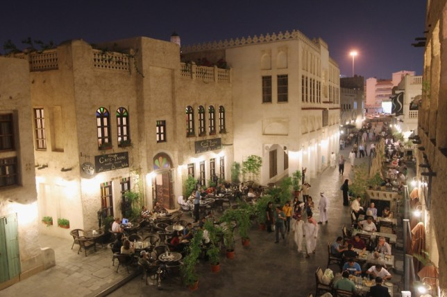 The Souq Waqif in Doha
