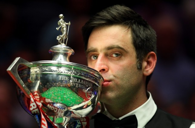 Ronnie O'Sullivan will be defending his world title (Picture: Getty)