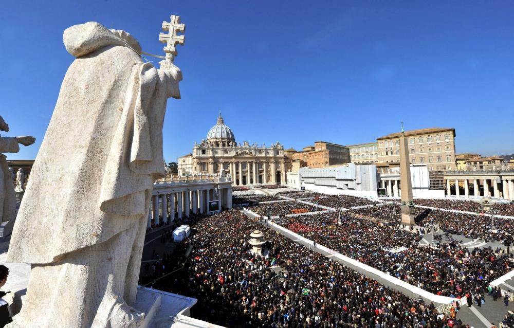 Gallery: Pope Benedict XVI last audience 2013