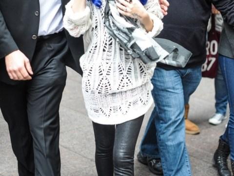 Cher Lloyd shocks with new blue hair do