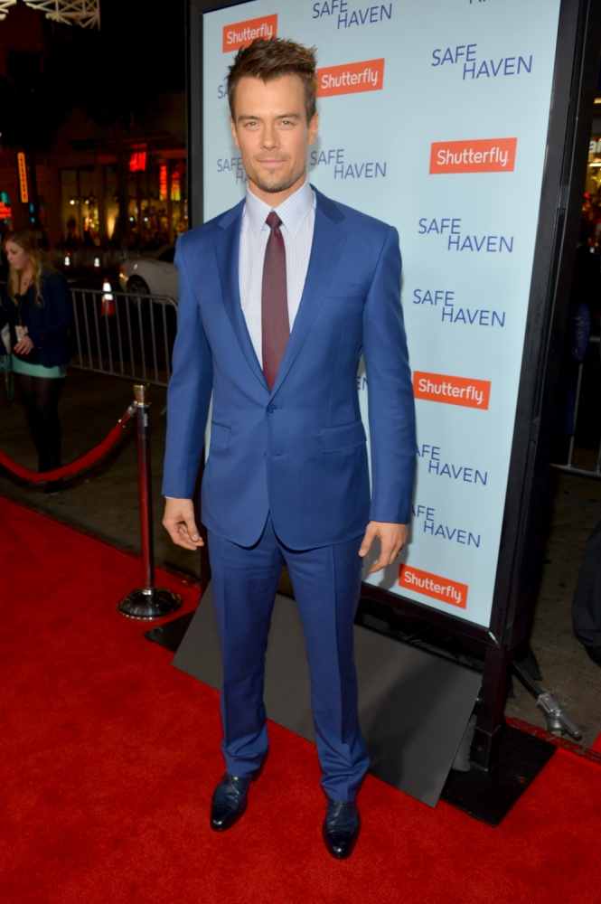 Josh Duhamel: Transformers was fun but it's time to get serious in Safe Haven