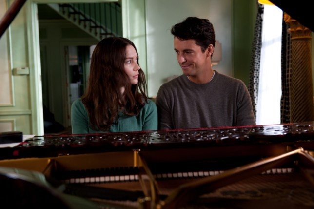 Mia Wasikowska and Matthew Goode put in a stunning performance in Stoker (Pic: Macall Polay