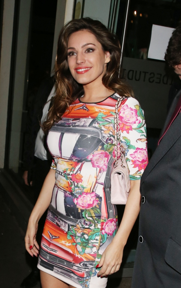 Kelly Brook hints again that she is back with Danny Cipriani as her latest ex Thom Evans is said to be dating Danny's former flame Jessica Lowndes