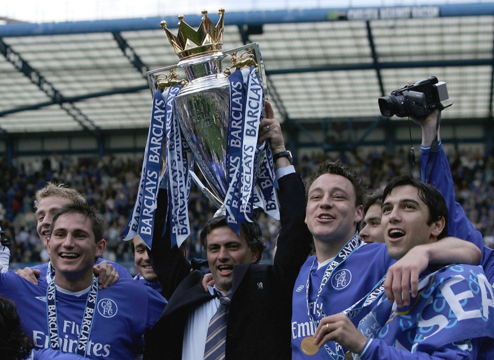 Jose Mourinho won two Premier League titles while in charge at Stamford Bridge (Picture: Getty)