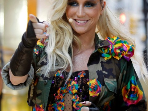 Harry Styles eyes up new cougar by secretly texting Ke$ha