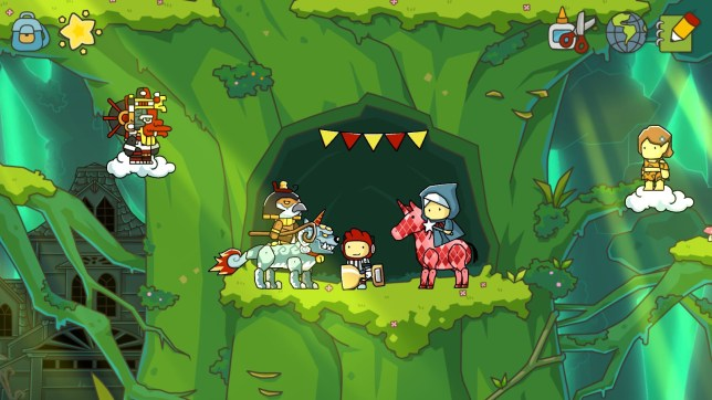 Scribblenauts Unlimited – now with new European exclusive limitations!