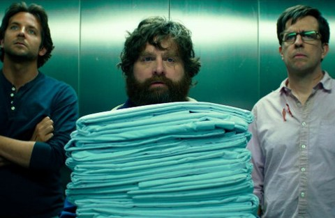 New image from Hangover 3 sees Bradley Cooper and Zach Galifianakis on road trip