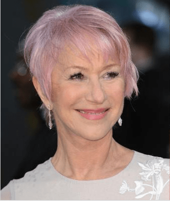 Baftas: Dame Helen Mirren debuts hot pink hairdo at the Bafta Awards after being inspired by America's Next Top Model
