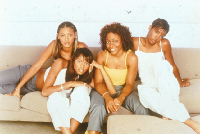 Beyonce Knowles, Kelly Rowalnd, LeToya Luckett and LaTavia Roberson