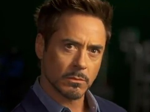 Robert Downey Jr practises moody stare in extended Iron Man 3 Super Bowl trailer