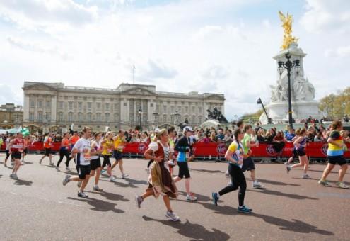 The London Marathon takes place on April 21