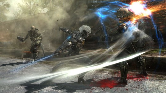 Metal Gear Rising: Revengeance (PS3) – cyborg on cyborg action