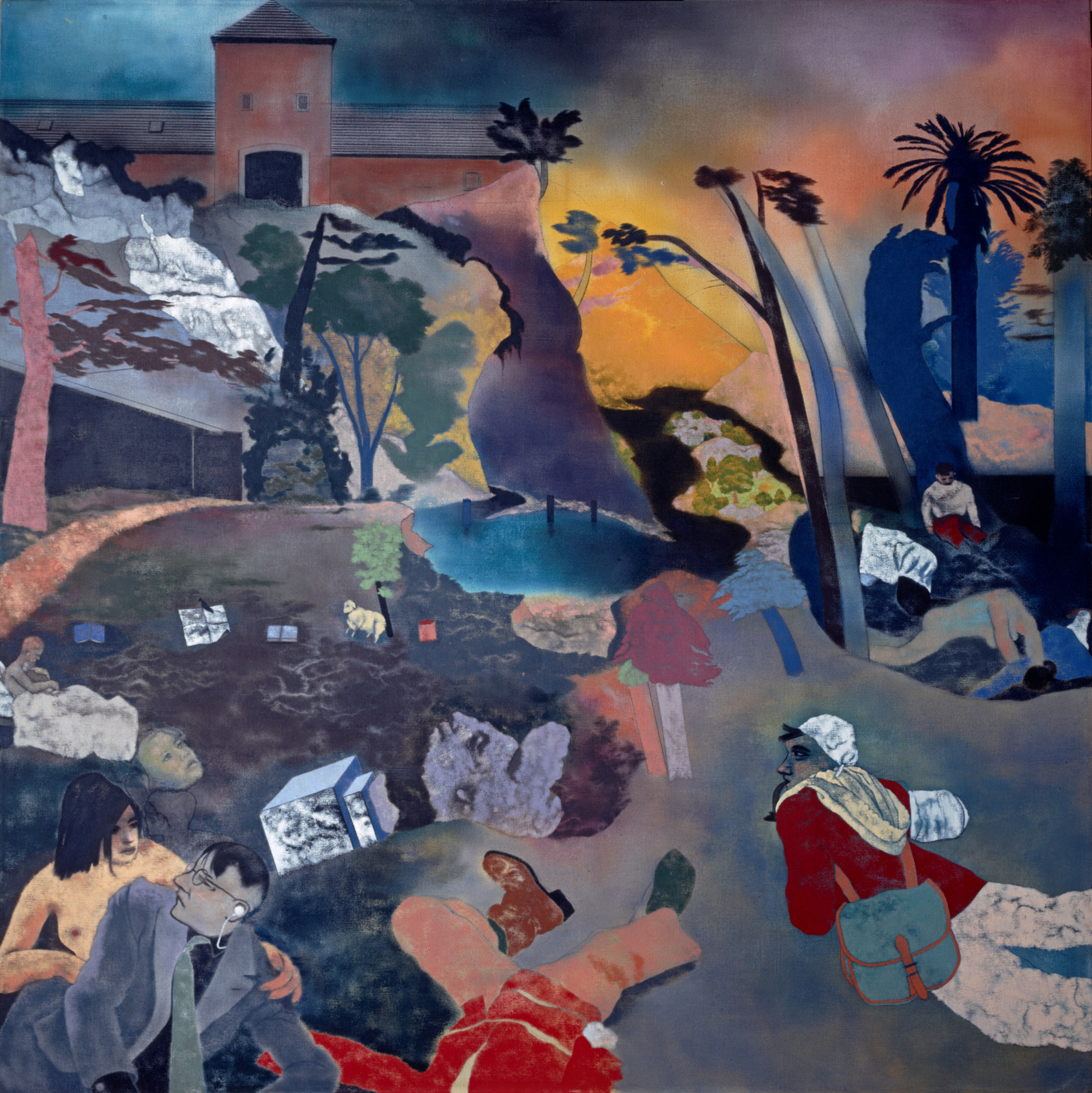 RB Kitaj's If Not, Not at The Jewish Museum (Picture: Scottish National Gallery of Modern Art, Edinburgh)