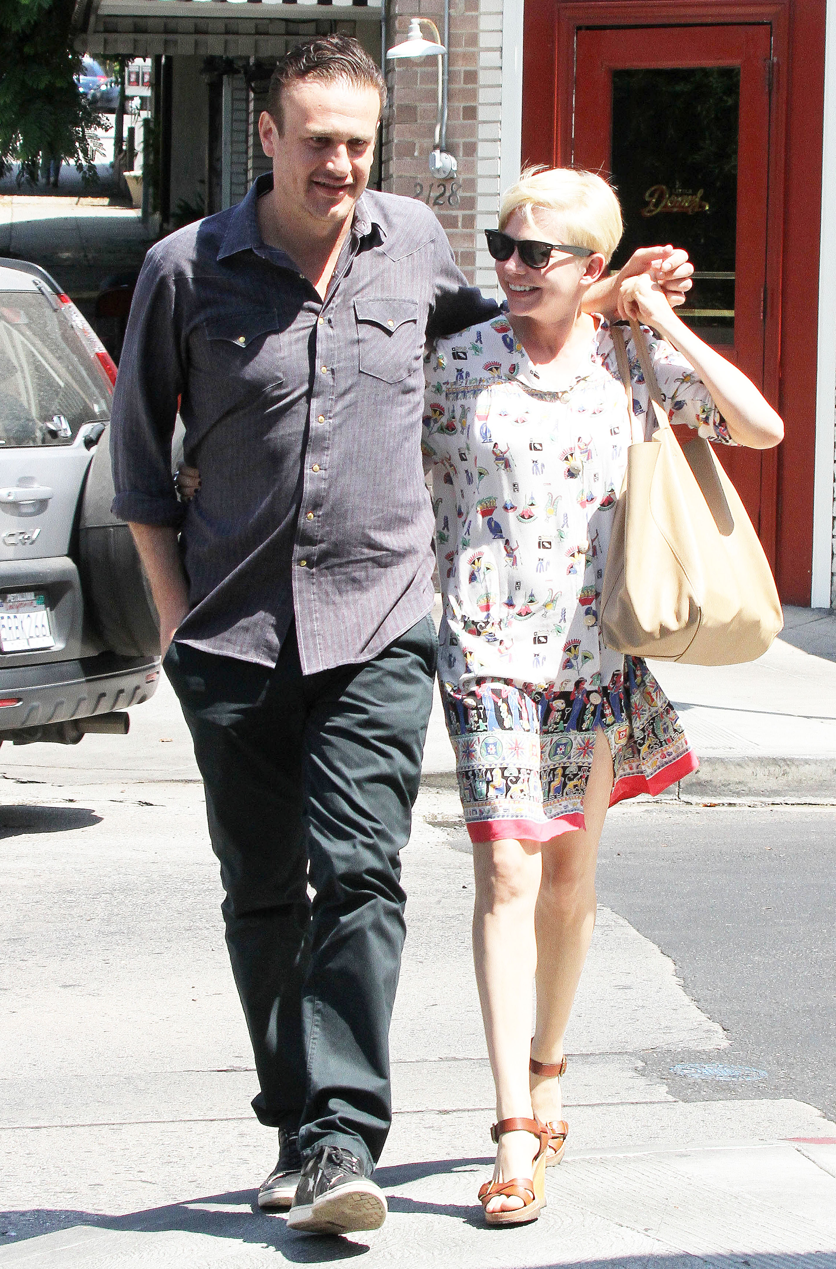 Michelle Williams and Jason Segal have called time on their relationship